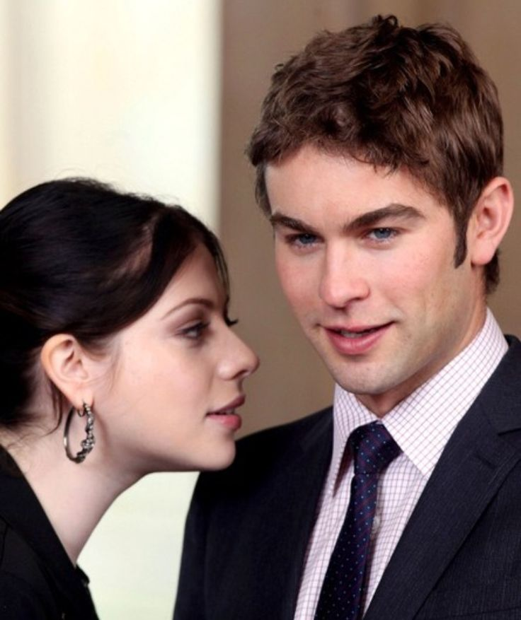 Nate and Georgina #gossipgirl #gg #Nate #Archibald #Georgina #Sparks #xoxo #Chace #Crawford #Michelle #Trachtenberg