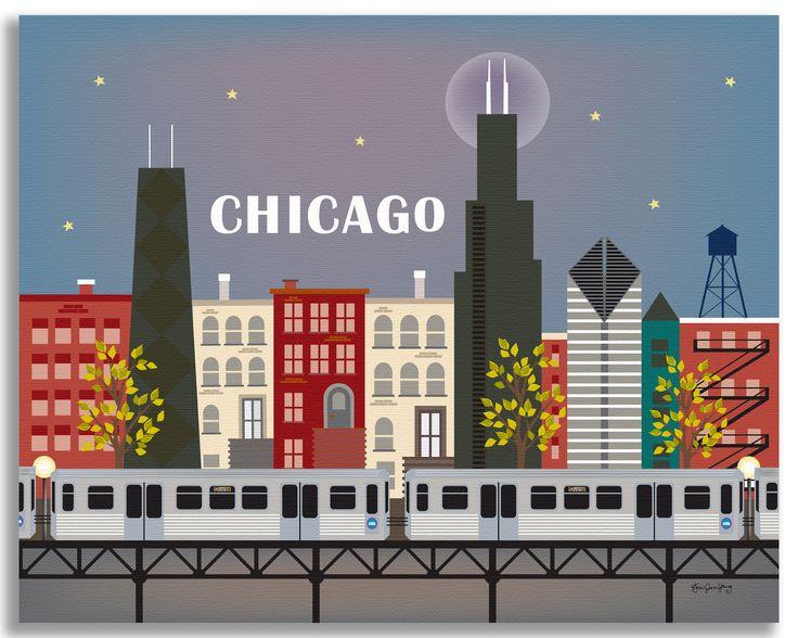 """Chicago, Illinois """"L"""" Train"""