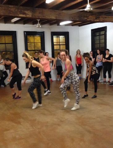 Beyonce dance workshop! Damn that gurl works hard :) http://www.bufnewcastle.com.au/intro-offer