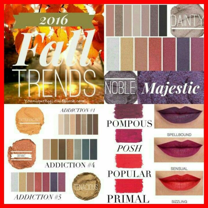 2016 Fall Trends✔️ https://www.youniqueproducts.com/JessicaAcevedo