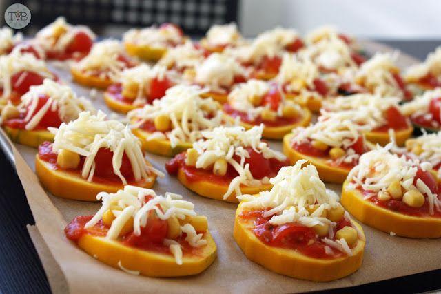 Zucchini Piccolinis #LowCarb - Tschaakii's Veggie Blog