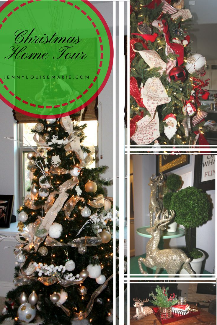 Looking for some holiday decorating inspiration?  Visit this Holiday Home Tour.