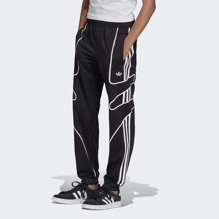Adidas Trainingshose Winter | Schwarz, Black, Nylon Jogginghose Sport L Large