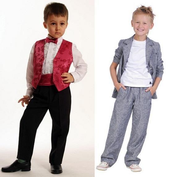 Фото костюмов для мальчика на выпускной в детском саду