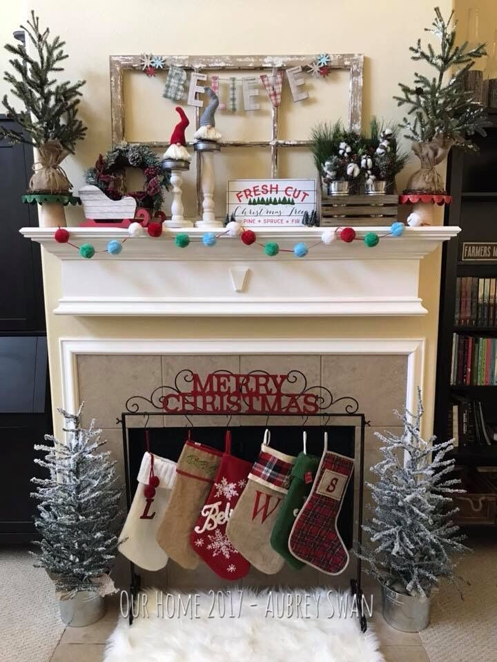25 unique mantle stocking holders ideas on pinterest for Mantle holders