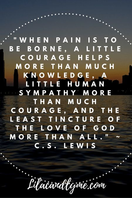 Encouragement for those in chronic pain. Lilacandlyme.com