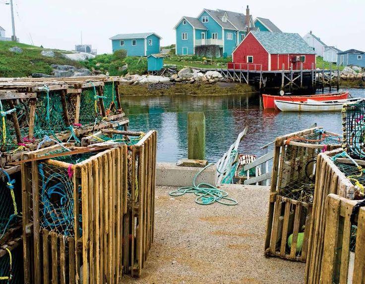 2017 Promo Calendars - Atlantic Canada  Atlantic Canada Scenic Maritime Provinces - September  Peggy's Cove, Nova Scotia