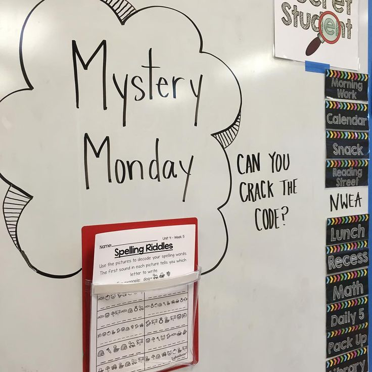 My kiddos loved figuring out their weekly words with these fun riddles! My best…