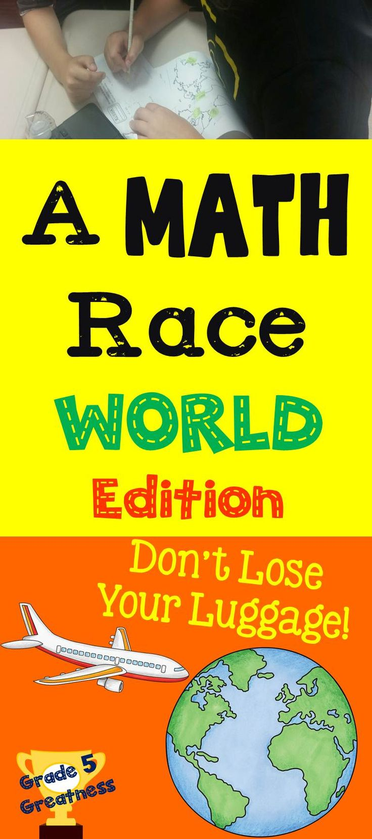Math Race Across The World Activity With Decimals And Fractions