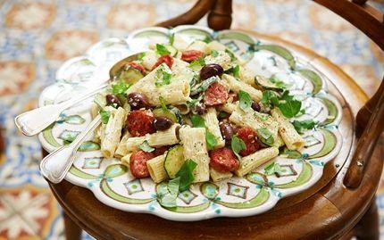 Pääruoka: RIGATONI ALLA SALSICCIA -PASTA Salsiccia on italialainen ruokamakkara, joka muistuttaa hieman bratwurstia. Kokeile herkullista pastareseptiä jo tänään!