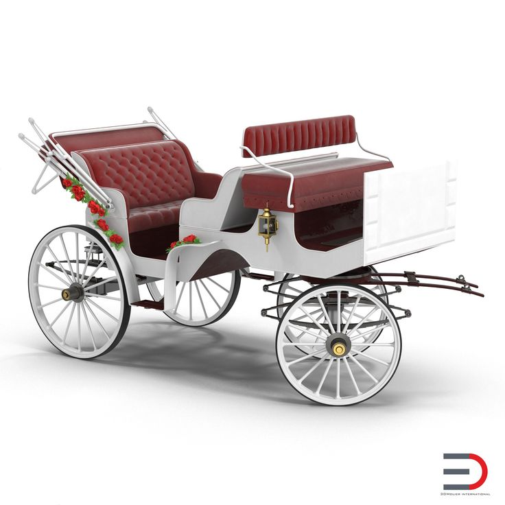 Wedding Carriage Rigged