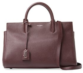 Cabas Rive Gauche Small Leather Tote