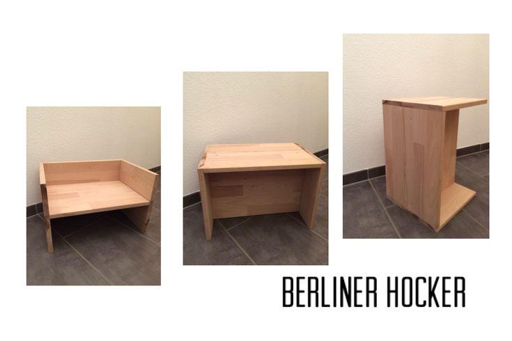 DIY Berliner Hocker by @Sägemann