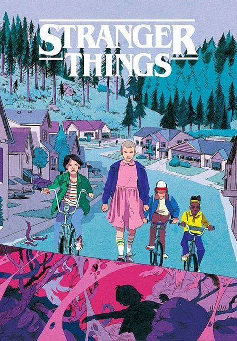 Stranger Things ️ ️ Stranger Things Stranger Things Fanart Stranger Things Wallpaper