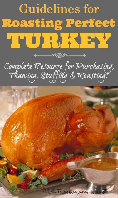 Thanksgiving Turkey Basics | Perfect Turkey, Turkey and Stuffing
