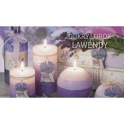 Fenomenalny, długo utrzymujący się zapach lawendy może już za chwilę zagościć w Twoim salonie lub sypialni! Wypełnij dom rozkoszą lawendowego aromatu... więcej na zrobswieczke.pl :) Do zobaczenia!