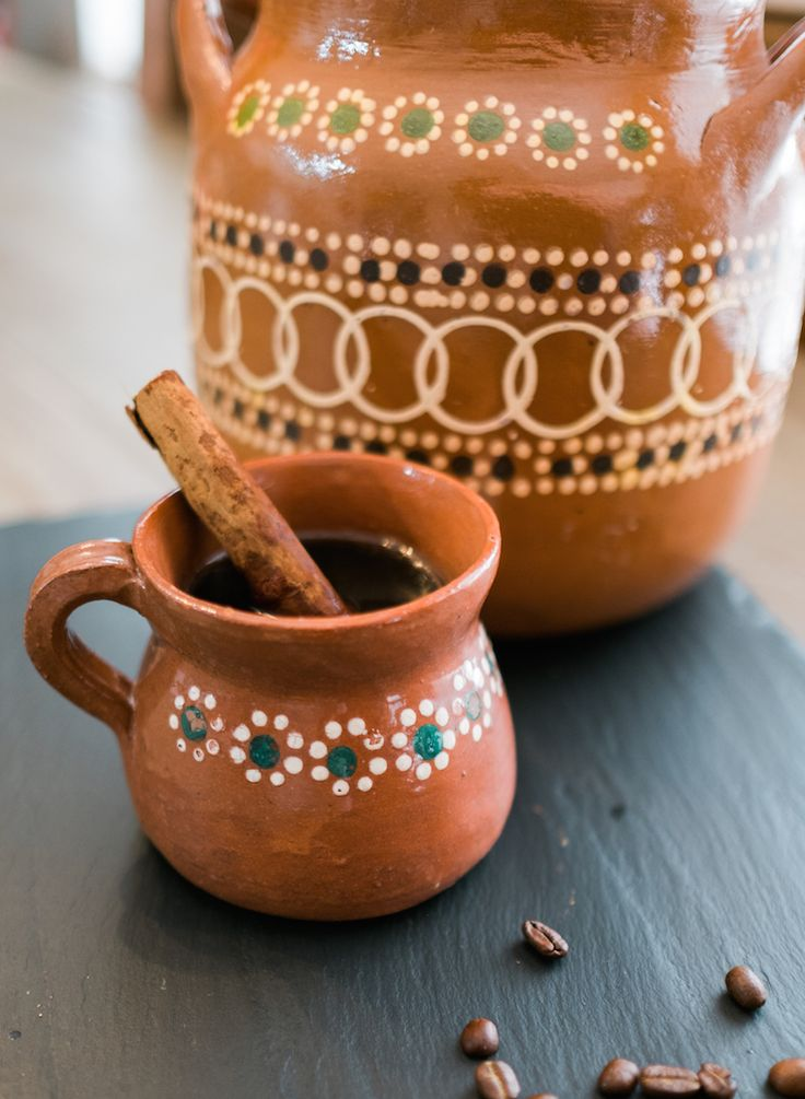 Café de Olla. Café de olla is a traditional Mexican coffee beverage. Traditionally this recipe is made using a Mexican clay pot giving it a very unique flavor, but it isn't necessary. In my video I show how to make this authentic coffee using a stockpot. The distinct flavor of the café de olla is provided by cinnamon and piloncillo.