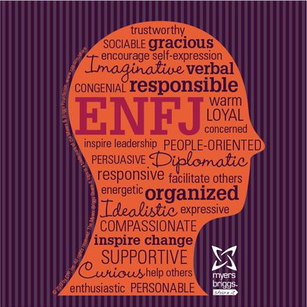 Check out this ENFJ type head!
