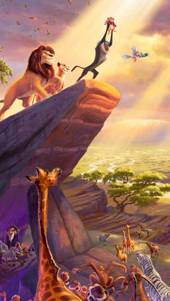 Lion King Simba Disney iPhone 5 wallpaper