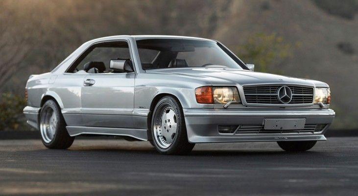 DLEDMV - Mercedes 560 SEC AMG Grey - 24