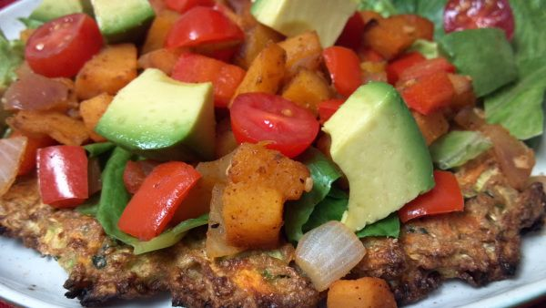 Butternut Squash Tostadas with Zucchini and Carrot Tostada Shells ...