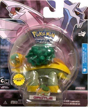Grotle - Pokemon Diamond and Pearl Marble Series 4 by Jakks. $13.43. Featuring Monferno from Pokemon Diamond and Pearl. Part of the Jakks Pacific Marble Series. The Pokemon Marble series figure is one of the most popular Pokemon franchise. Featuring many Pokemons from Pokemon Diamond and Pearl, this Pokemon figure line has captured the heart of millions of Pokemon fans.. Save 78% Off!