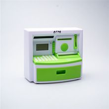 Mini ATM Bank Toy Digital Cash / Coin Storage Save Money Box ATM Bank Machine Money Saving Piggy Bank Kids Gift ;LIKE-ATM(China)
