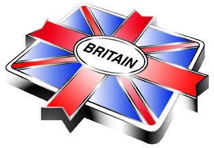 Het logo van Go Britan