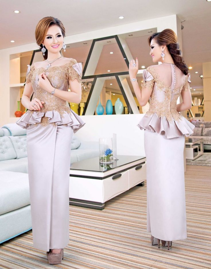 Khmer Traditional Dress And Cloths From