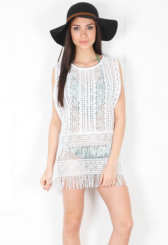 A new coverup for the beach is on my list of summer wants.