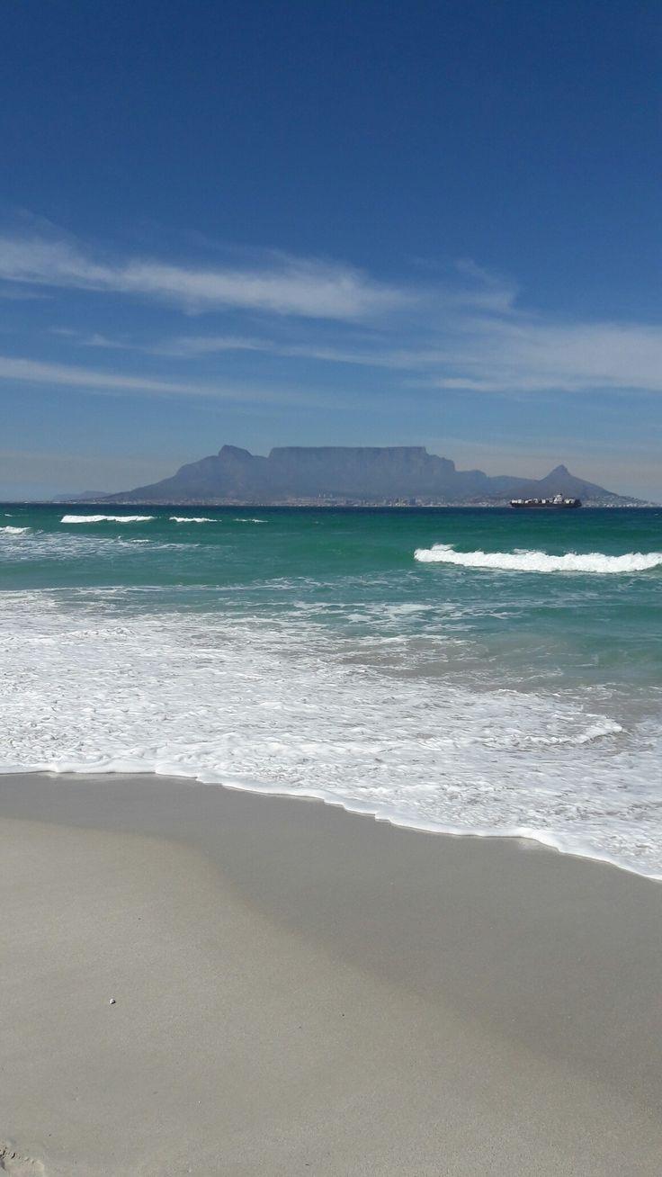 Cape Town bloubergstrand beach