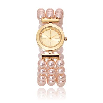 Madeleine Pearl Watch Faux Pearl watch - Accessories - Make up - Oriflame Sweden - Oriflame cosmetics UK & USA - Madeleine Pearl Watch Faux Pearl watch
