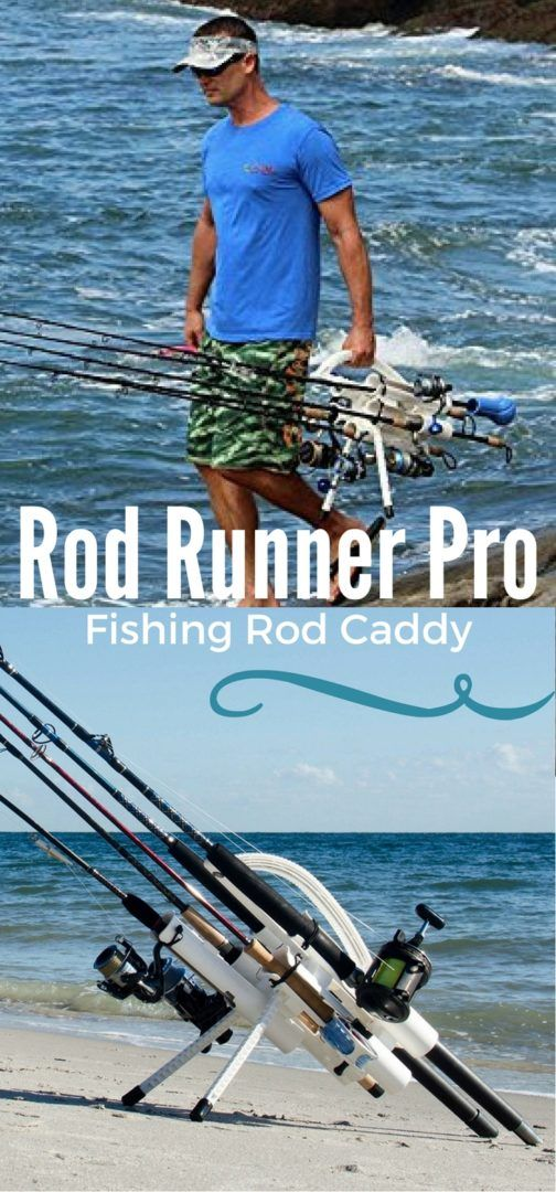 Portable Fishing Rod Holder Rod Caddy Carrier - Bait Cast -and- Fish Reels