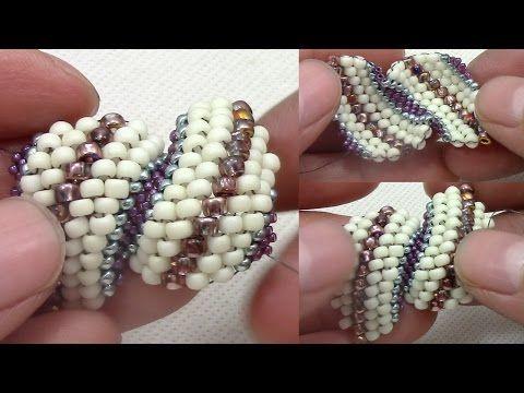 Espiral Ruso (Russian Spiral Stitch) - YouTube                                                                                                                                                      Más