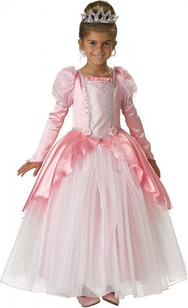 Новогодний костюм для девочки принцеса