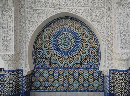 Iara Sclovsky - Cursos de Mosaico Arquitetura islâmica