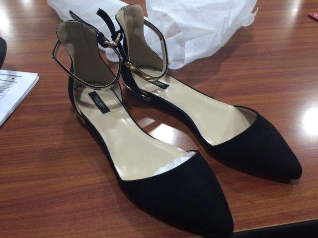 Tienda Online Pequeño tamaño grande 31.32.33.34.40.41.42 punta estrecha mujeres tobillo correa zapatos planos señora recorte de vacío medio primavera de zapatos de verano | Aliexpress móvil