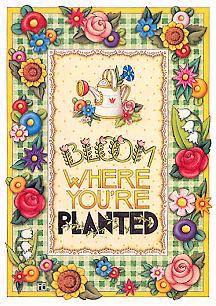 Mary Engelbreit Bloom Card