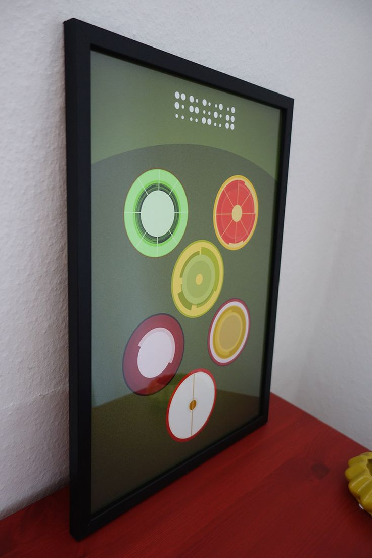 """#Graphic #crosssection of #fruits. #Braille on top with """"fruit"""" For more #pictures : lisaketty.tictail.com"""