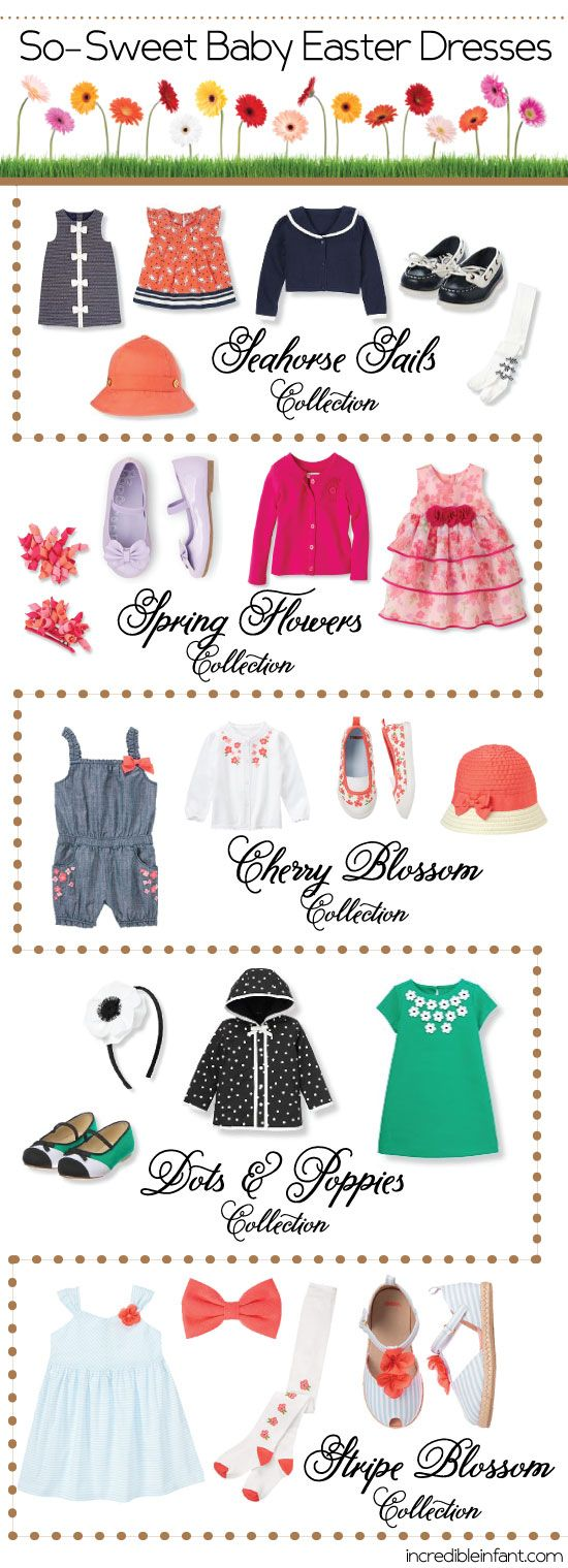 Gorgeous Infant Easter Dresses and Accessories - http://www.incredibleinfant.com