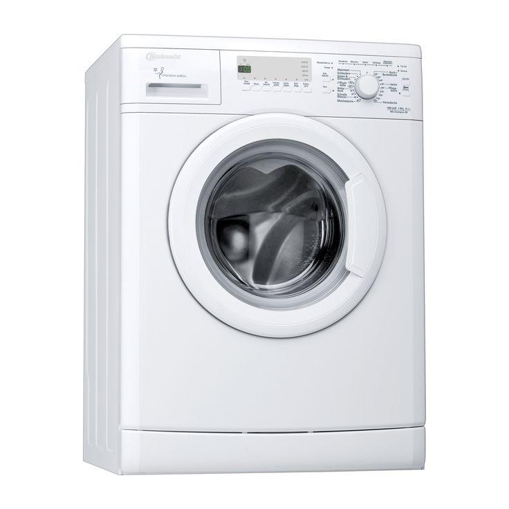 Bauknecht WA Champion 64 Weiß Waschvollautomat, unterbaufähig, A+++, 6kg, 1400U/min-