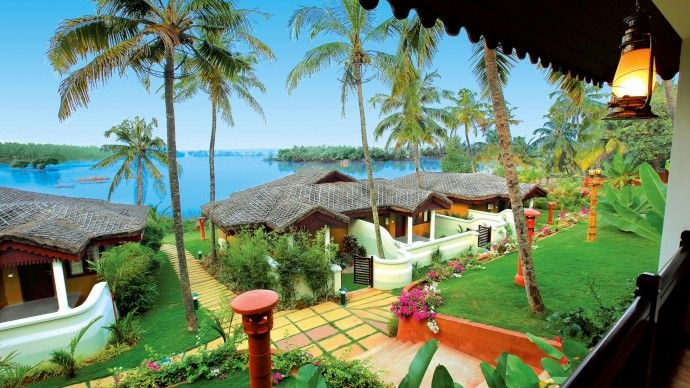 #Fragrant #Nature #Backwater #Resort & #Ayurveda #Spa is an exclusive 4 star Resort offering the ultimate in #relaxation and seclusion from the hustle and bustle of city #life. #kerala #boutindia #tourindia #yogatours #ayurvedaspa #lakes #beaches #houseboats
