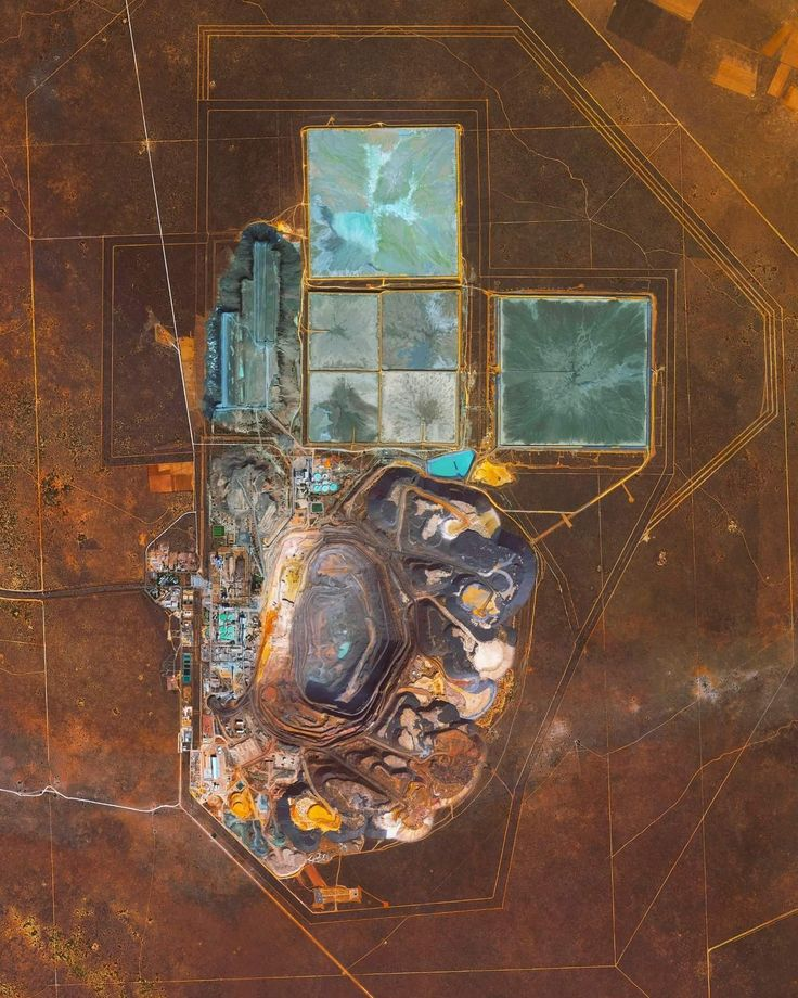 The Jwaneng Diamond Mine in Botswana is the richest diamond mine in the world, with an annual output of approximately 15.6 million carats. Mine richness takes into account the rate of diamond extraction combined with the quality of the diamonds that are mined (sale price per weight). To extract the diamonds, the facility produces 9.3 million tonnes of ore and an additional 37 million tonnes of waste rock per year.  Instagram: http://bit.ly/2BtggUL  –24.523050°, 24.699750°  Source imagery…