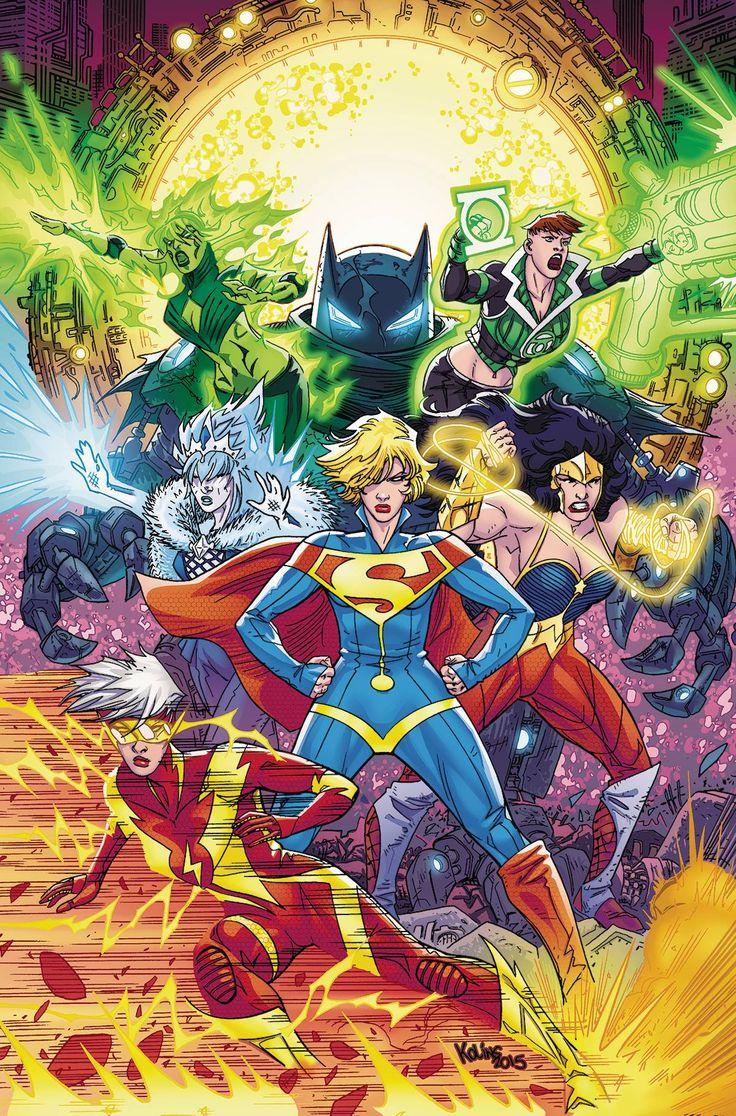 JUSTICE LEAGUE 3001 TP VOL 02 Las cosas seComo el mal Señora Styx y su reinado legión durante la Commonwealth, una totalmente nueva Liga de la Justicia se levanta de las cenizas del viejo.  Pero, ¿pueden derrocar a un tirano que está abrazado por la misma gente que ha conquistado, incluso con la ayuda de Supergirl del pasado?  Con el fin de hacerlo, tendrán que derrotar agente más letal de Lady Styx: Eclipso!  Recoge JUSTICE LEAGUE 3001 # 7-12.  desmoronan
