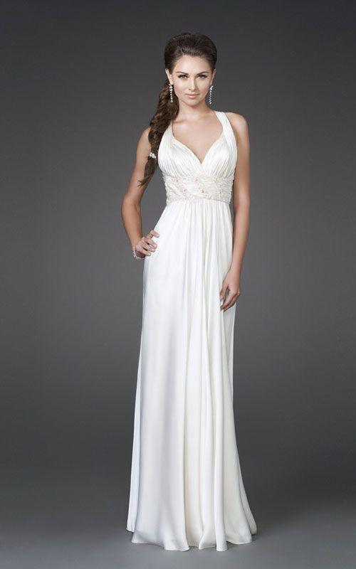 La Femme 15418 Beautiful Wedding Dress Perfect For The Beach