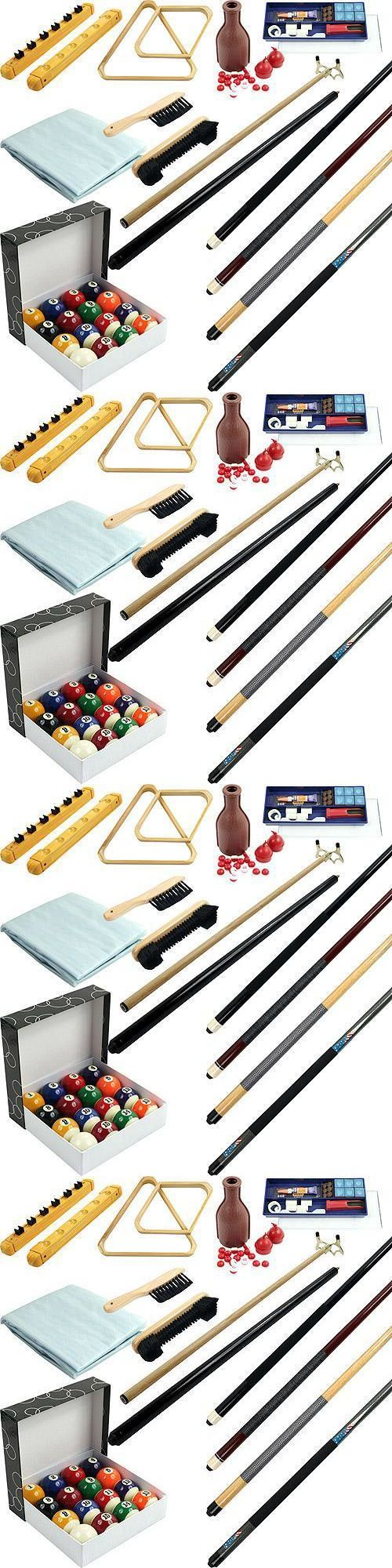 Ball and Cue Racks 75185: Billiard Accessory Kit 32 Pcs Pool Table Stick Ball Set -> BUY IT NOW ONLY: $104.04 on eBay!