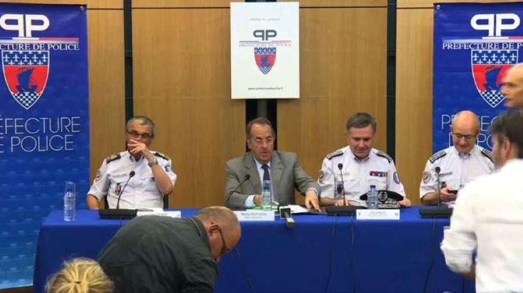 Le préfet de police, Michel Delpuech a tenu une conférence presse sur les mesures de sécurité prises dans le cadre de la fête de la musique.