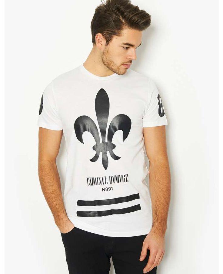 Criminal Damage Fleur T-Shirt | BANK Fashion