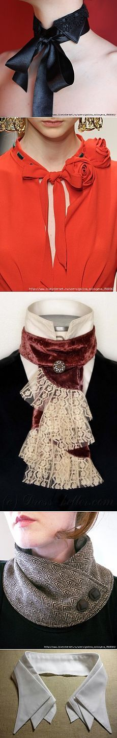 In the treasury of the dressmaker: collars and collars