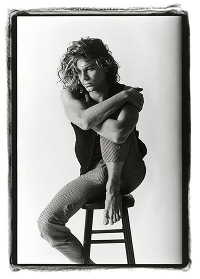 Credit: Laura Levine/Courtesy of Steven Kasher Gallery, New York Michael Hutchence, NYC, 1986